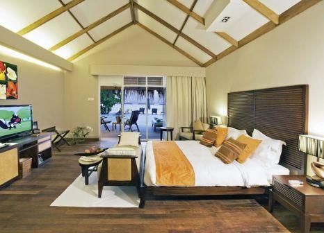 Hotelzimmer mit Tischtennis im Vakarufalhi Island Resort