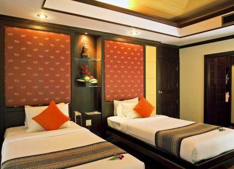 Hotelzimmer mit Paddeln im Khao Lak Palm Beach Resort