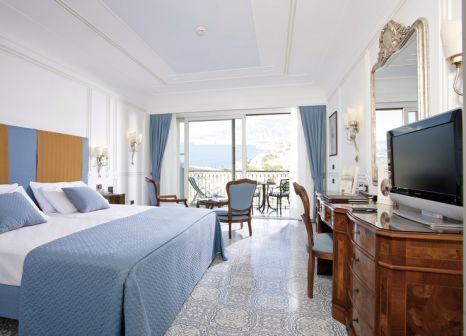 Hotelzimmer mit Mountainbike im Grand Hotel Capodimonte