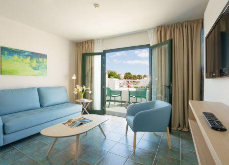 Hotelzimmer mit Tischtennis im Relaxia Lanzaplaya