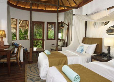 Hotelzimmer mit Tischtennis im Makunudu Island