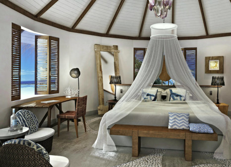 Hotelzimmer mit Segeln im Drift Thelu Veliga Retreat
