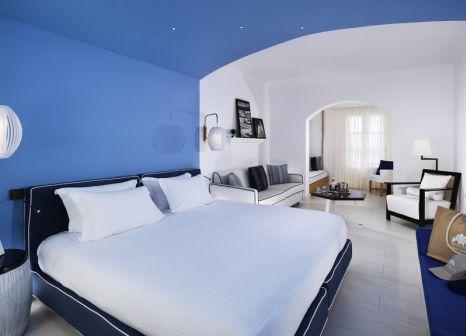 Hotelzimmer mit Tischtennis im Mykonos Grand Hotel & Resort