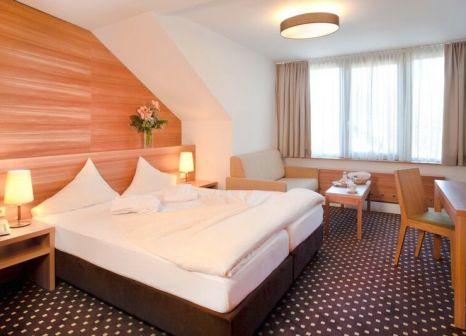 Hotelzimmer mit Tischtennis im Hotel Bon Alpina
