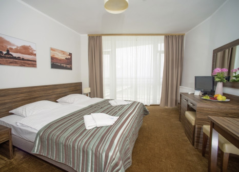 Hotelzimmer mit Mountainbike im Kursanatorium Baltyk