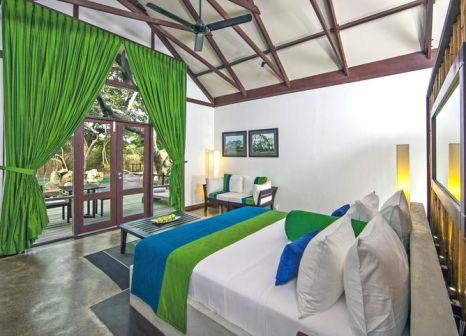 Hotelzimmer mit Volleyball im Uga Jungle Beach