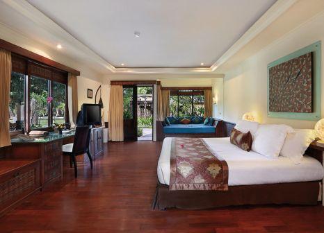 Hotelzimmer mit Mountainbike im Hotel Vila Ombak