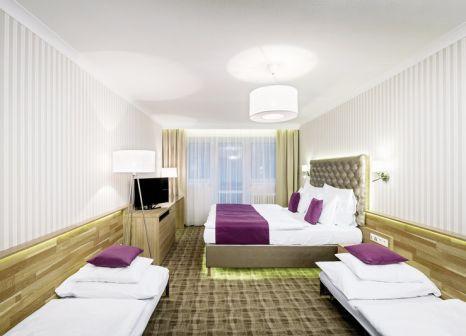 Hotelzimmer mit Tischtennis im Pytloun Wellness Hotel Harrachov