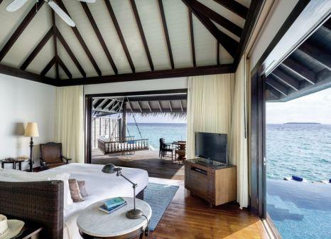 Hotelzimmer mit Fitness im Anantara Kihavah Maldives Villas