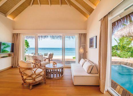 Hotelzimmer mit Fitness im Baglioni Resort Maldives