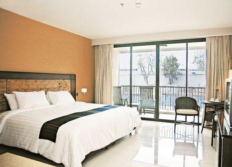 Hotelzimmer mit Volleyball im Tara Mantra Cha Am