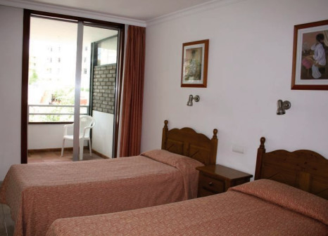 Hotelzimmer mit Mountainbike im Las Jacarandas