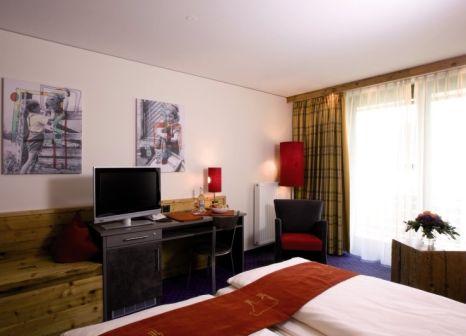 Hotelzimmer mit Ski im Oberstdorf