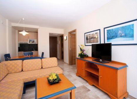 Hotelzimmer mit Tischtennis im Grupotel Alcudia Suite