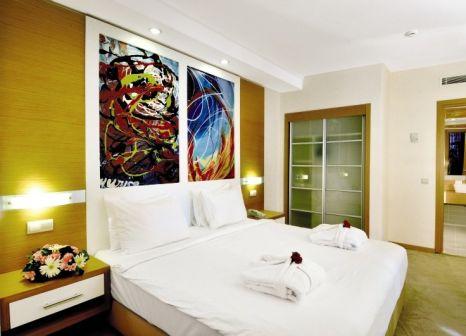 Hotelzimmer mit Volleyball im Ladonia Hotels Adakule