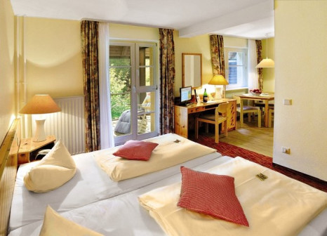 Hotelzimmer mit Mountainbike im Schwarzwald Parkhotel Königsfeld