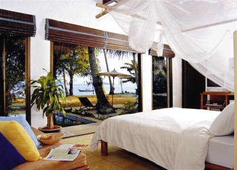 Hotelzimmer mit Volleyball im Paradise Koh Yao
