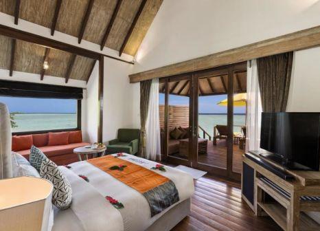 Hotelzimmer mit Volleyball im Dhigufaru Island Resort