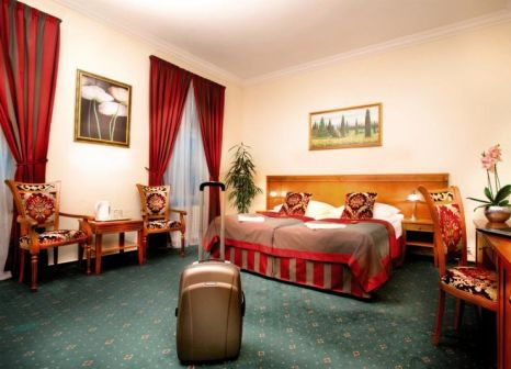 Hotelzimmer mit Spielplatz im Green Garden Hotel