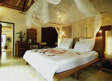 Hotelzimmer mit Mountainbike im Paradise Koh Yao