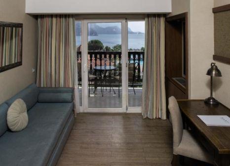 Hotelzimmer mit Volleyball im Marti Resort Marmaris