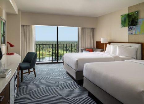 Hotelzimmer mit Mountainbike im Hyatt Regency Grand Cypress