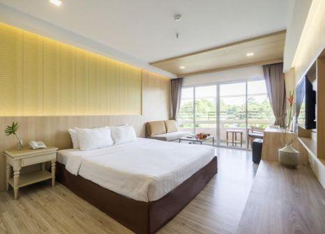 Hotelzimmer mit Paddeln im Chaba Samui Resort