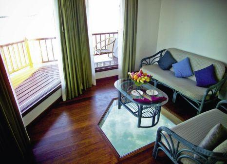 Hotelzimmer mit Tischtennis im Velidhu Island Resort