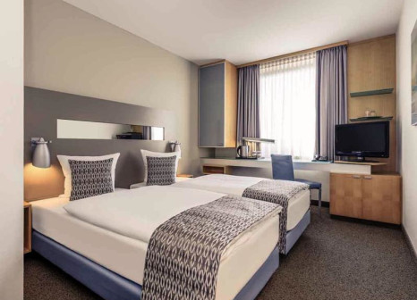 Hotelzimmer mit Restaurant im Mercure Hotel Duesseldorf City Nord