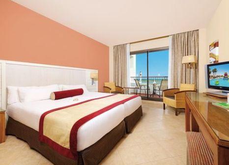 Hotelzimmer mit Mountainbike im Hotel Fuerte El Rompido