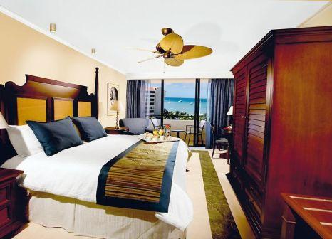 Hotelzimmer mit Volleyball im Barcelo Aruba