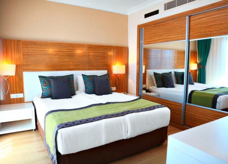 Hotelzimmer mit Mountainbike im Aquaworld Belek