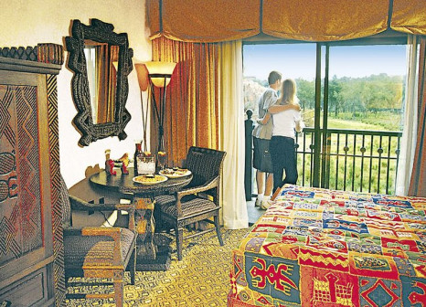 Hotelzimmer mit Fitness im Disney's Animal Kingdom Lodge