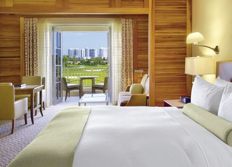 Hotelzimmer mit Mountainbike im JW Marriott Miami Turnberry Resort & Spa