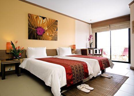 Hotelzimmer mit Mountainbike im Mercure Pattaya