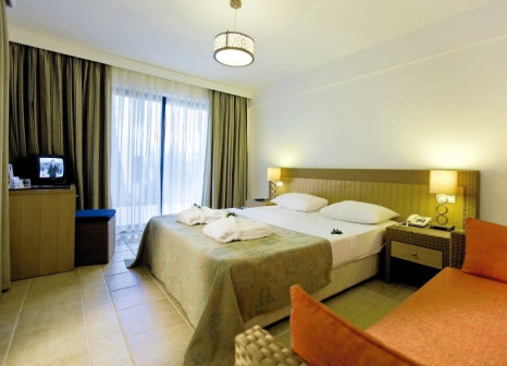 Hotelzimmer mit Mountainbike im Club Salima