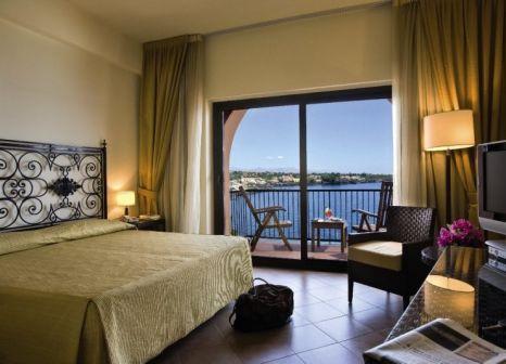 Hotelzimmer mit Paddeln im Santa Tecla Palace