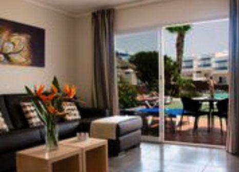 Hotelzimmer mit Mountainbike im Club Siroco