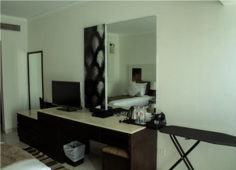 Hotelzimmer mit Fitness im Sharming Inn