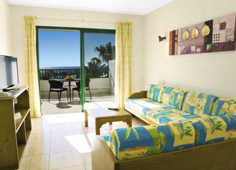 Hotelzimmer mit Mountainbike im Galeón Playa