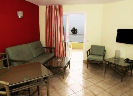 Hotelzimmer mit Golf im Apartamentos Morasol