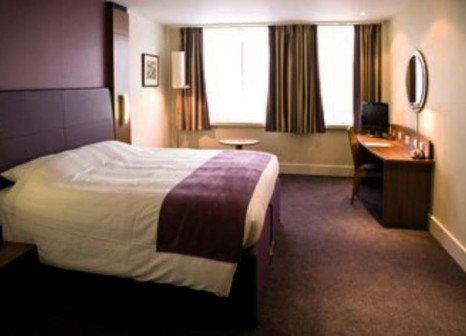 Hotelzimmer mit Internetzugang im Premier Inn London City (Tower Hill)