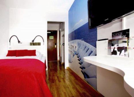 Hotelzimmer mit Animationsprogramm im Scandic Sjöfartshotellet