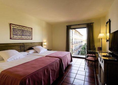 Hotelzimmer mit Tischtennis im PortAventura Hotel El Paso