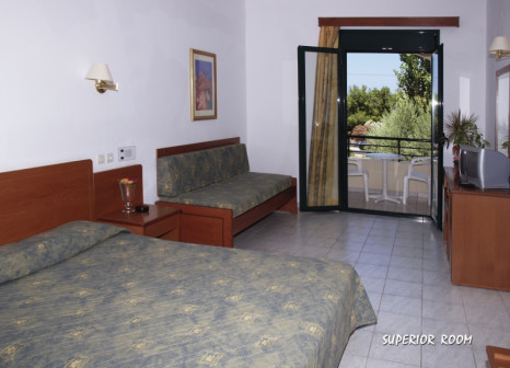 Hotelzimmer mit Tennis im Hotel Gortyna