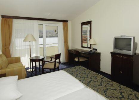 Hotelzimmer mit Mountainbike im Meridijan