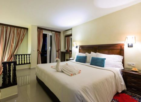 Hotelzimmer mit Tischtennis im Farah Hotel Marrakech