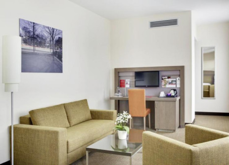 Hotelzimmer mit Klimaanlage im InterCityHotel Leipzig