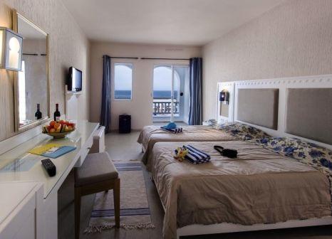 Hotelzimmer mit Mountainbike im Club Calimera Yati Beach