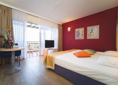 Hotelzimmer mit Mountainbike im Aldiana Zypern
